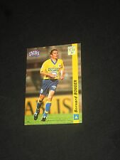BOUGER  FC SOCHAUX   Carte football card FRANCE FOOT DS 1998-1999 panini