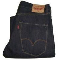 Mens LEVI'S 520 Dark Blue Bootcut Flare Denim Jeans W32 L32
