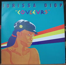 "IDRISSA DIOP ""COULEURS"" FRENCH LP AMERICA RECORDS"