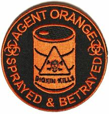 Agent Orange Sprayed and Betrayed Patch - 3x3 inch by Ivamis Trading P4905