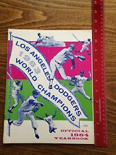 1964 Los Angeles Dodgers Yearbook World Series Champions