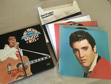 ELVIS PRESLEY GREATEST HITS READER'S DIGEST 6 LP BOX SET EX CON