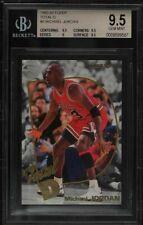 Michael Jordan 1992-93 Fleer Total D #5 BGS 9.5 Gem Mint Extremely Rare Low Pop