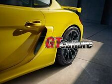 Fit for 981 GT4 Style Boxster Cayman GTS SIDE AIR INTAKES VENTS SCOOPS GRILLES
