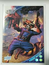 2017 Marvel Premier Base Set 21 Rocket Raccoon /125