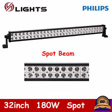 32inch 180W Philips LED Light Bar Work Spot Lamp Truck Off-road UTE JEEP Ford