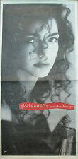 Gloria Estefan Cuts Both Ways, orig Epic promotional poster, 1989, 12x24, Vg+
