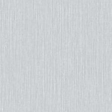 ARTHOUSE RAFFIA PLAIN PATTERN TEXTURED EMBOSSED STRIPE VINYL WALLPAPER SILVER