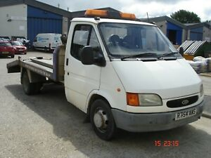 Ford transit smiley recovery truck 2.5 diesel banana engine 3.5t only 2 owners