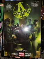 NEW Avengers Undercover Volume 1 Descent Collects #1 2 3 4 5 Marvel Comics TPB