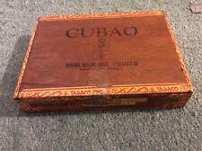 Vintage Cubao 25 Supremos Wooden Empty Cigar Box -  Manila Philippines