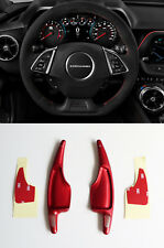 Pinalloy Red Metal Paddle Shifter Extension for Chevrolet Camaro Corvette C7