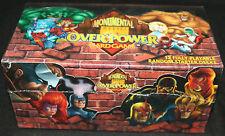Marvel Monumental Overpower Card Game 12 Fully Playable Starter Decks - 1997