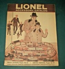 1960 LIONEL TRAINS POSTWAR CATALOG