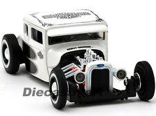 MAISTO 1:24 32175 1929 FORD MODEL A HARLEY DAVIDSON NEW DIECAST PEARL WHITE