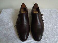 Chaussures homme marbrées rouge et noir