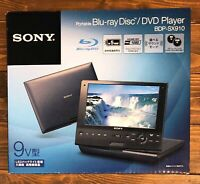"""NEW Sony BDP-SX910 9"""" Wide Screen Portable Blu-ray Disc Player F/S From JAPAN"""