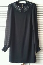 Dorothy perkins ladies size 8 black dress/tunic