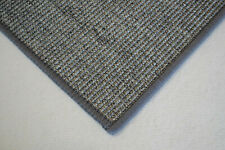 Sisal Teppich umkettelt grau meliert 100% Sisal gekettelt verschiedene Größen