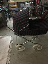 Vintage Swedish Emmaljunga VIKING Stroller Bassinet Baby Buggy