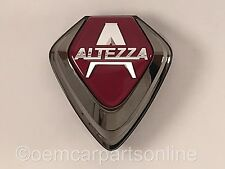JDM Toyota 2000-05 Lexus IS300 Front Grill Altezza Emblem Red Badge Genuine OEM