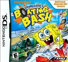 Spongebob Boating Bash - Nintendo DS Nintendo DS, Nintendo DS Video Games-Good C