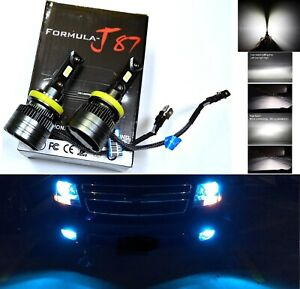 LED Kit G8 100W H11B 10000K Icy Blue Two Bulbs Head Light Low Beam Replacement