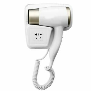 Hot/Cold Wind Blow Hair Dryer Electric Wall Mount Hairdryers Hotel Bathroom Dry