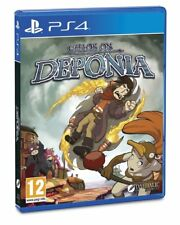 Chaos on Deponia (PS4) BRAND NEW SEALED