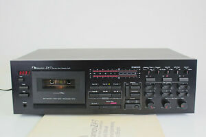 Nakamichi ZX-7 Tapedeck Kassettendeck  serviced  manual  - excellent condition 2