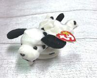 Dotty Dalmatian Dog PVC 4th/3rd Generation 1996 Retired Ty Beanie Baby Mint