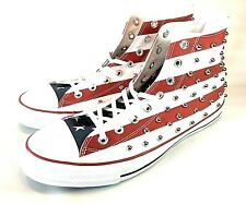 Converse Chuck Taylor CTAS Studded Americana Red White Blue 160994C Size 11