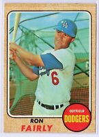 1968 Topps #510 Ron Fairly Los Angeles Dodgers Baseball Card