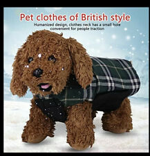 Reversible Dog Coat Jacket British Style, Size  S And XS