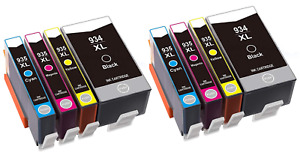 2 sets 934XL 935XL compatible Ink Cartridges For HP Officejet Pro 6230 and 6830