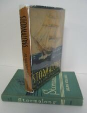 Alan Villiers STORMALONG A Boy's Voyage Around the World, 1937 1st Ed in DJ