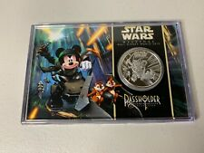 STAR WARS WEEKENDS 2013 DISNEY PASSHOLDER COIN IN DISPLAY CASE LE of 2013