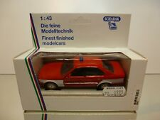SCHABAK 1156 BMW 535i E34 NOTRUF 112 - RED 1:43 - VERY GOOD IN BOX