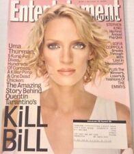 Entertainment Weekly Magazine Uma Thurman Kill Bill October 3, 2003 080117nonrh