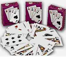 LOT DE 3 MINI JEUX DE 54 CARTES