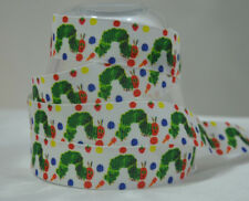 """Very Hungry Caterpillar Ribbon 1 Metre 22mm 7/8"""" Cake Party Gift Wrap Hair"""