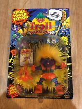 Troll Warriors Fanta The Rascal 1992 Tyco Troll Power Tattoo Orange Purple New