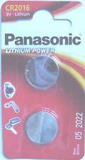 Panasonic 3 V CR2016 Single Use Batteries