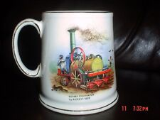 James Kent Old Foley Mug 'Rotary Cultivator' And 'Steam Omnibus'