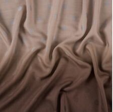 NEW PAUL SMITH SCARF 100% LAMBSWOOL GREY TO BROWN GRADIENT