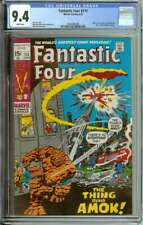FANTASTIC FOUR #111 CGC 9.4 WHITE PAGES