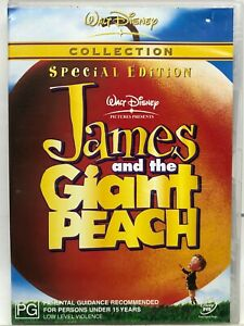 James and the Giant Peach - Disney Special Editon - DVD - AusPost with Tracking