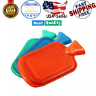 Premium Classic Rubber Hot Water Bottle Great for Pain Relief, Hot and Cold Ther