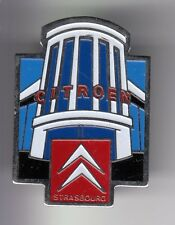 RARE PINS PIN'S .. AUTO CAR CITROEN ALSACE GARAGE CONCESSION STRASBOURG 67~DW