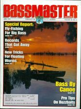 1995 Bassmaster Magazine: Fly Fishing For Big Bass/Bass by Canoe/Floating Worms